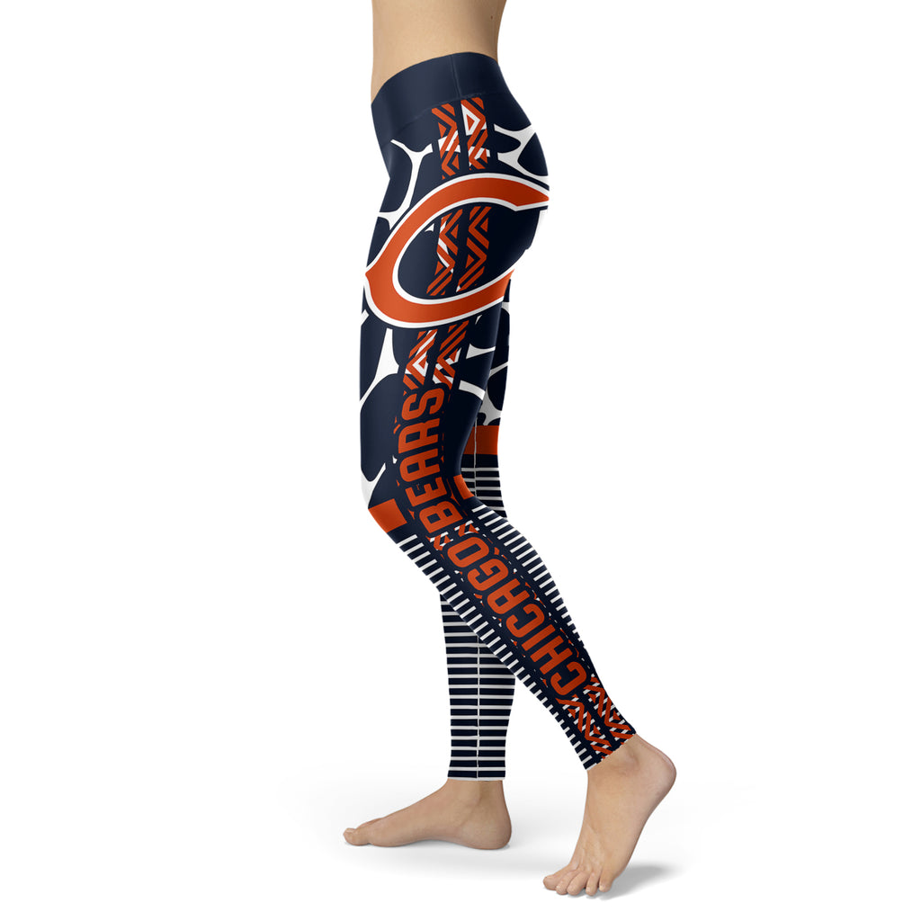Cool Air Lighten Attractive Kind Chicago Bears Leggings