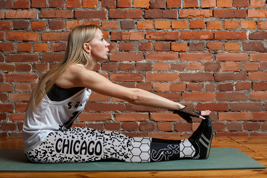 Incredible Patterns Luxury Nice Chicago White Sox Leggings