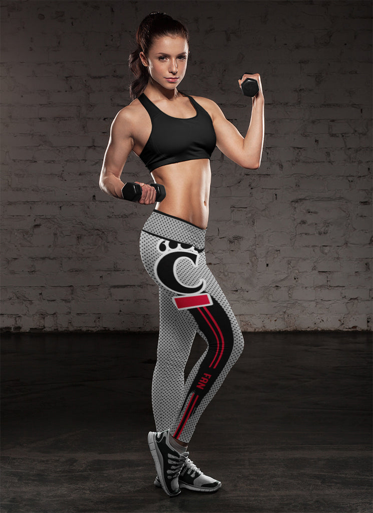 Charming Lovely Little Dots Along Body Cincinnati Bearcats Leggings