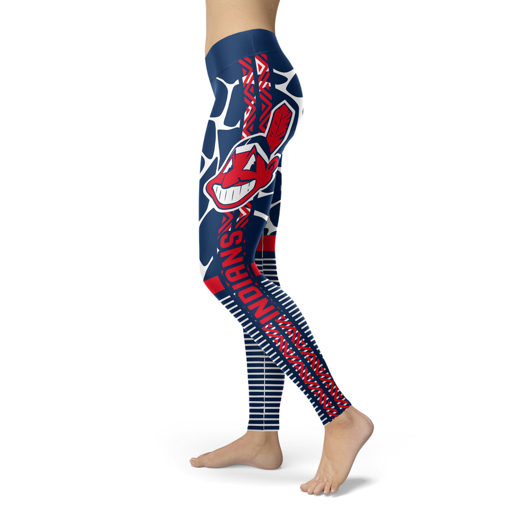 Cool Air Lighten Attractive Kind Cleveland Indians Leggings
