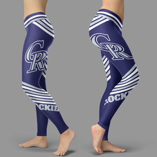 Straight Cute Beautiful Attractive Colorado Rockies Leggings
