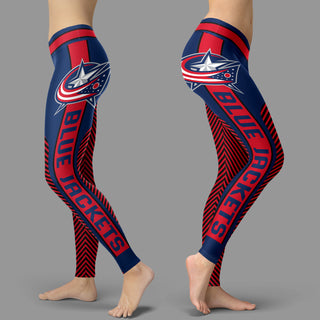 Fashion Gorgeous Fitting Fabulous Columbus Blue Jackets Leggings