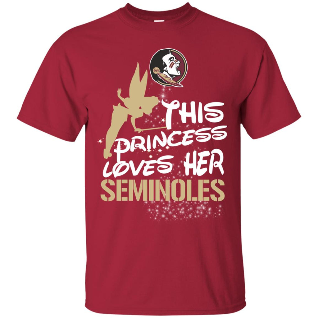 This Princess Love Her Florida State Seminoles T Shirts