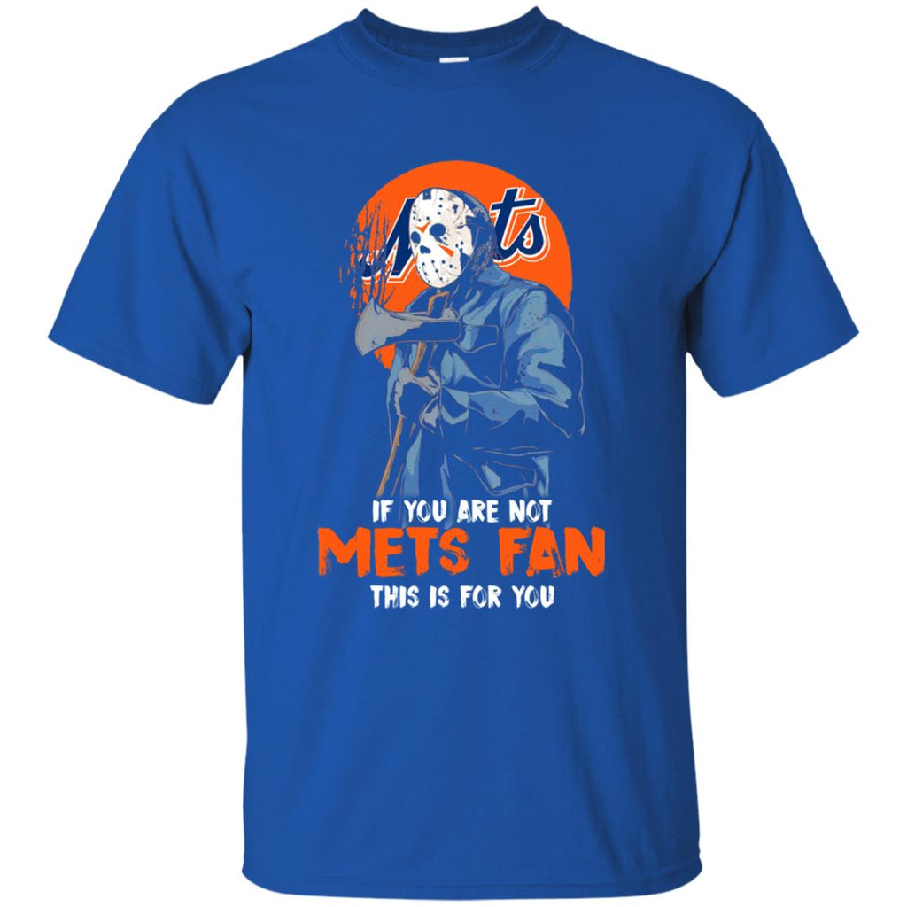 Jason With His Axe New York Mets T Shirts