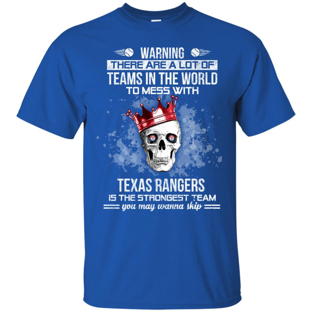 Texas Rangers Is The Strongest T Shirts