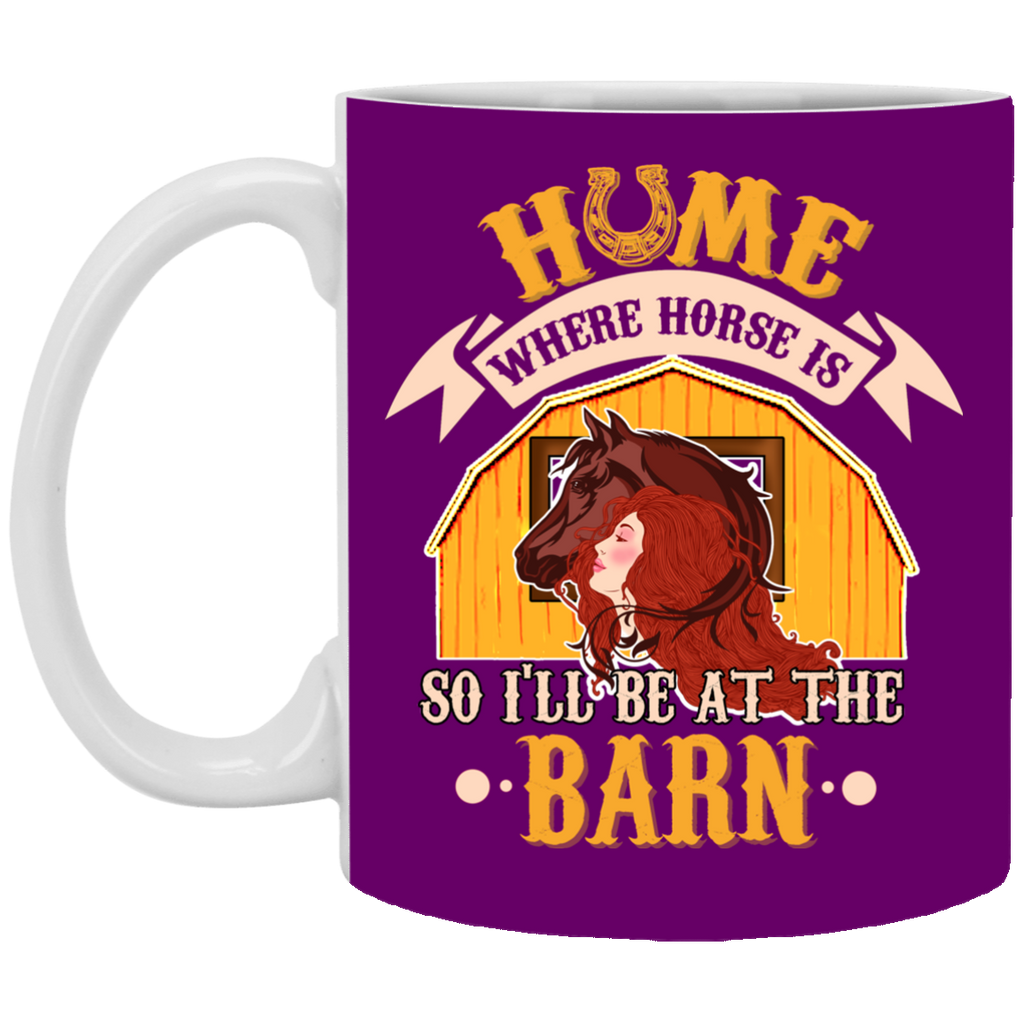 Home Is Where Horse Is Mugs