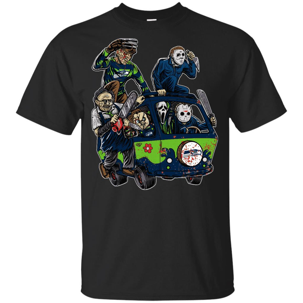 The Massacre Machine Seattle Seahawks T Shirt - Best Funny Store