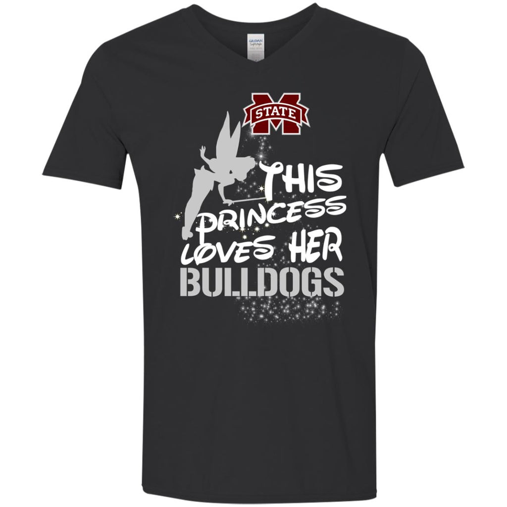 This Princess Love Her Mississippi State Bulldogs T Shirts