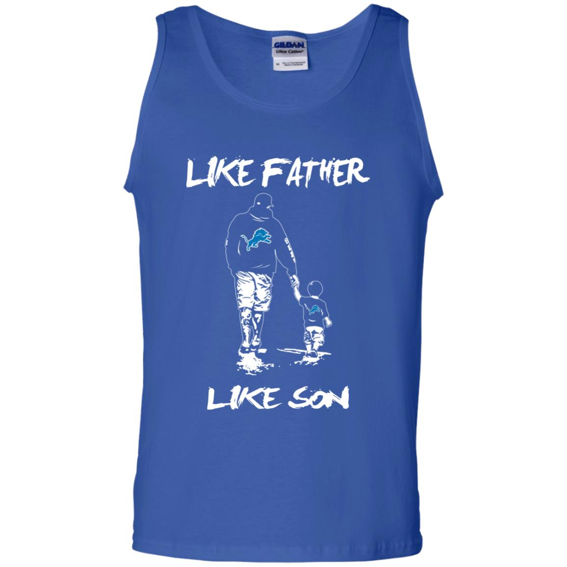 Like Father Like Son Detroit Lions T Shirt