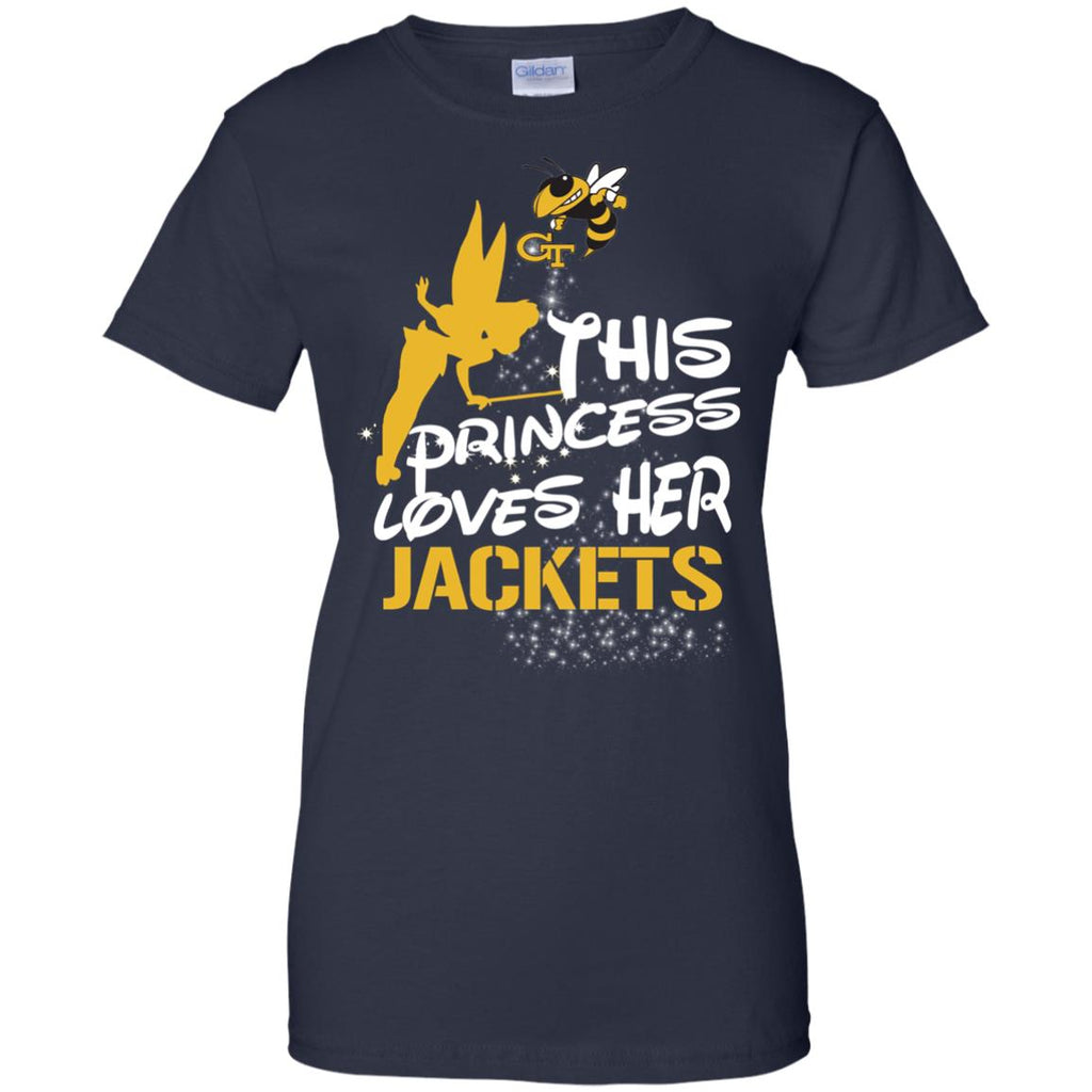 This Princess Love Her Georgia Tech Yellow Jackets T Shirts