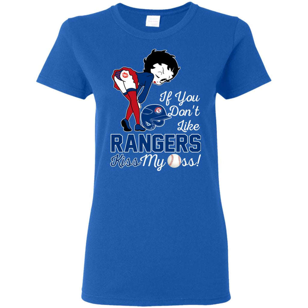 If You Don't Like Texas Rangers Kiss My Ass BB T Shirts