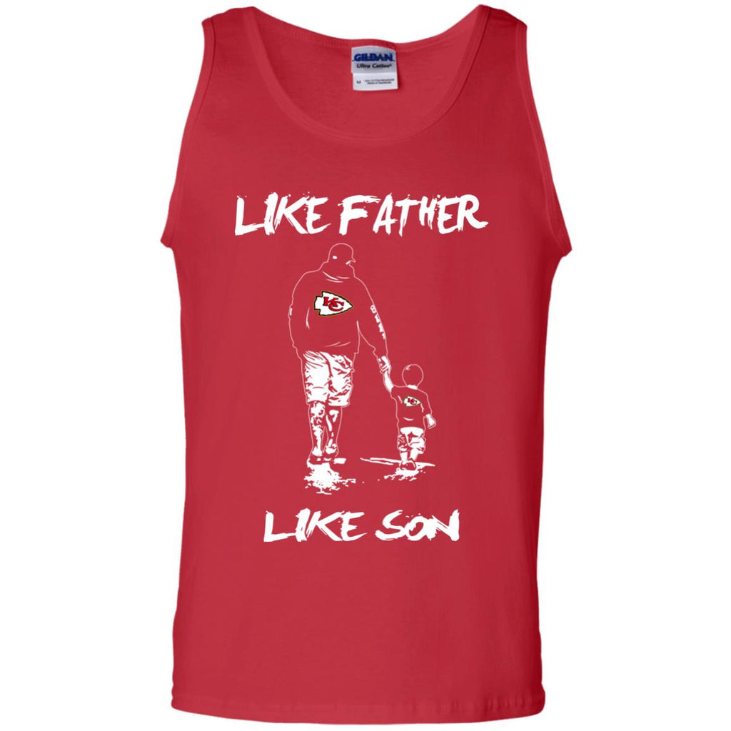 Like Father Like Son Kansas City Chiefs T Shirt