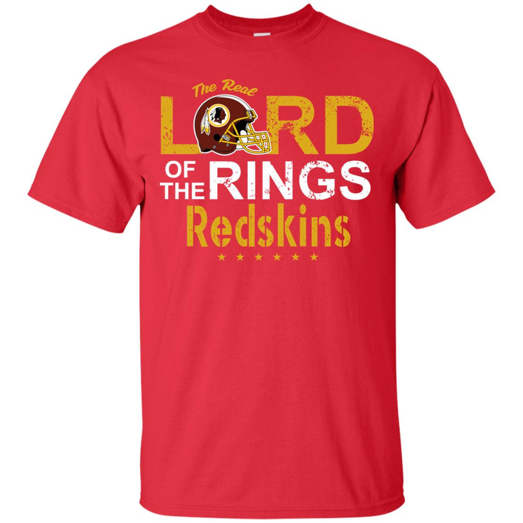 The Real Lord Of The Rings Washington Redskins T Shirts