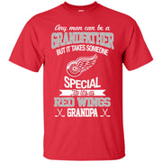 It Takes Someone Special To Be A Detroit Red Wings Grandpa T Shirts