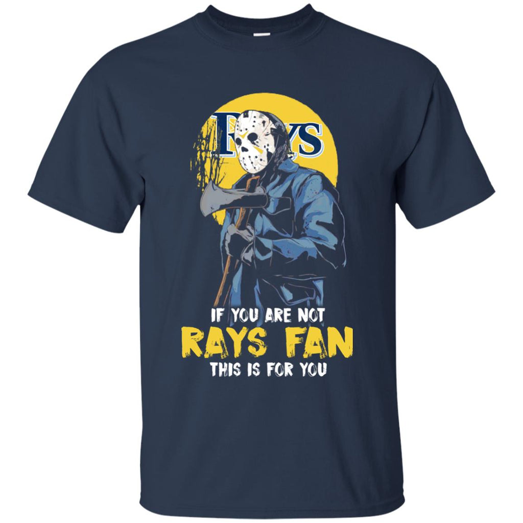 Jason With His Axe Tampa Bay Rays T Shirts