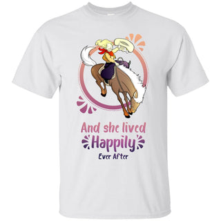 Cowboy Children - Horse And She Lived Happily Ever After T Shirts