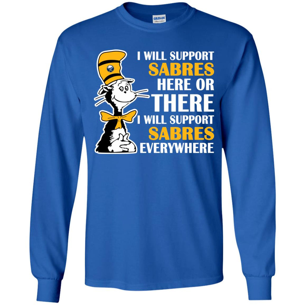 I Will Support Everywhere Buffalo Sabres T Shirts