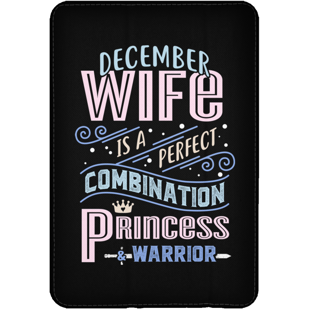 December Wife Combination Princess And Warrior Tablet Covers