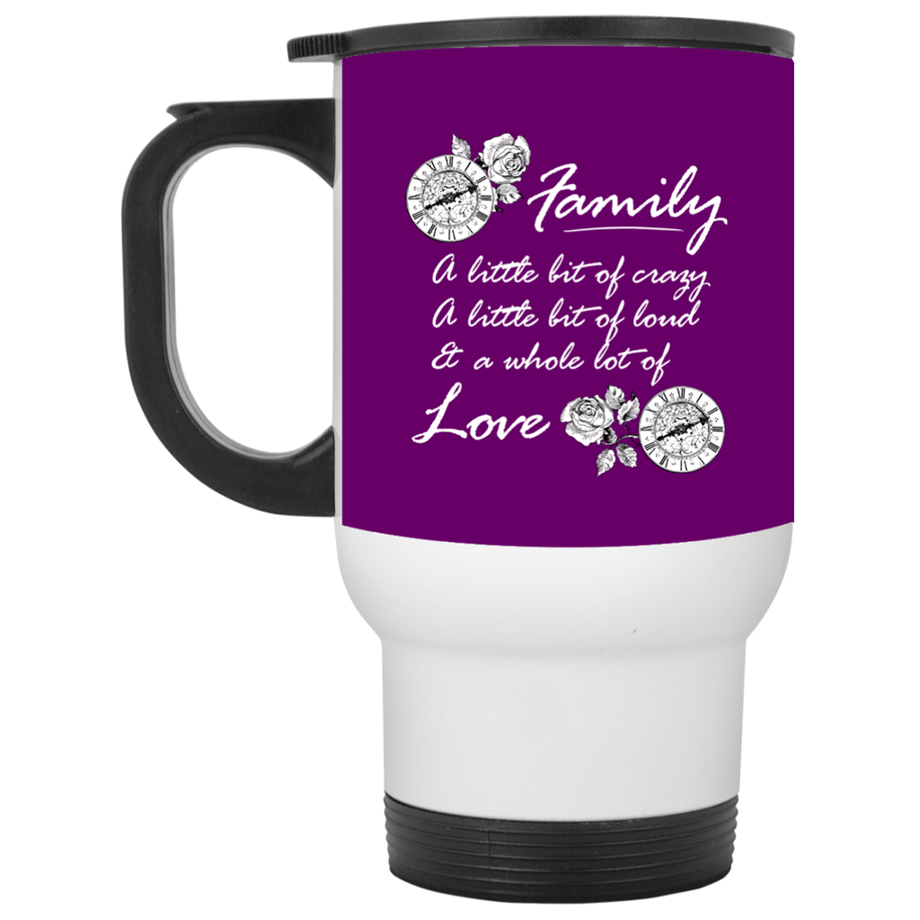 A Little Bit Of Crazy Family Mugs