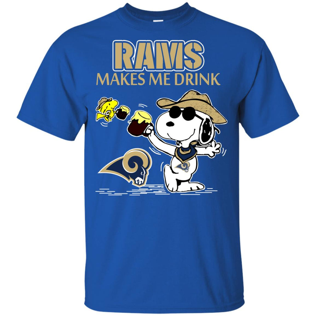 Los Angeles Rams Make Me Drinks T Shirts