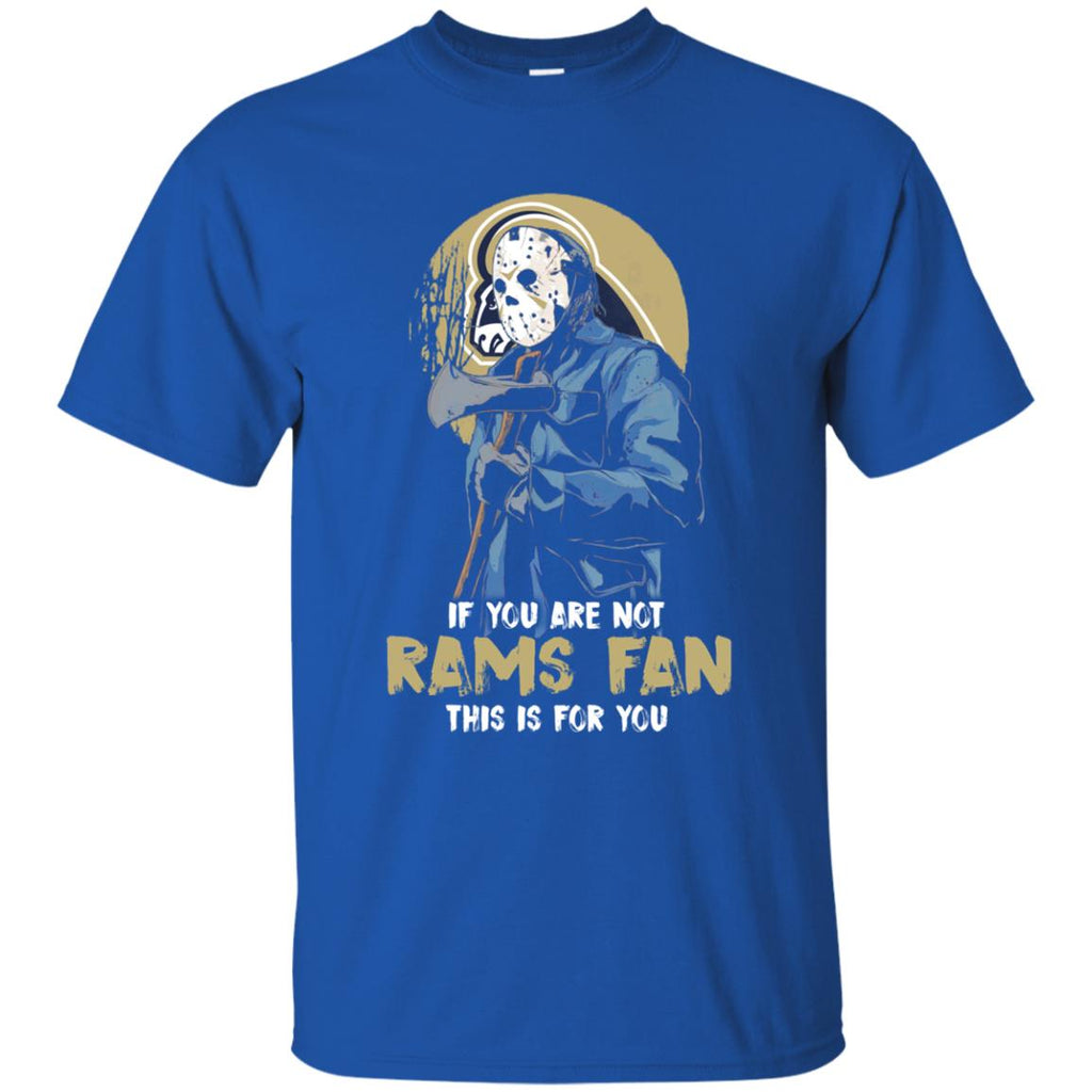 Jason With His Axe Los Angeles Rams T Shirts