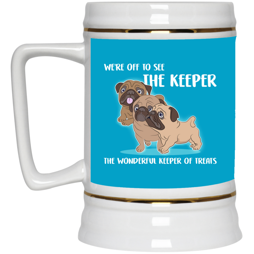 We're Off To See The Keeper Pug Mugs