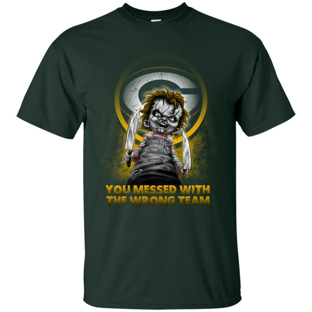 You Messed With The Wrong Green Bay Packers T Shirts