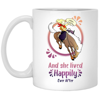 Cowboy Children - Horse And She Lived Happily Ever After Mugs
