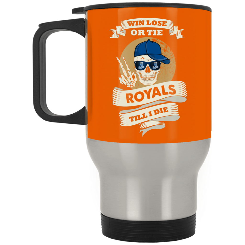 Skull Say Hi Kansas City Royals Mugs