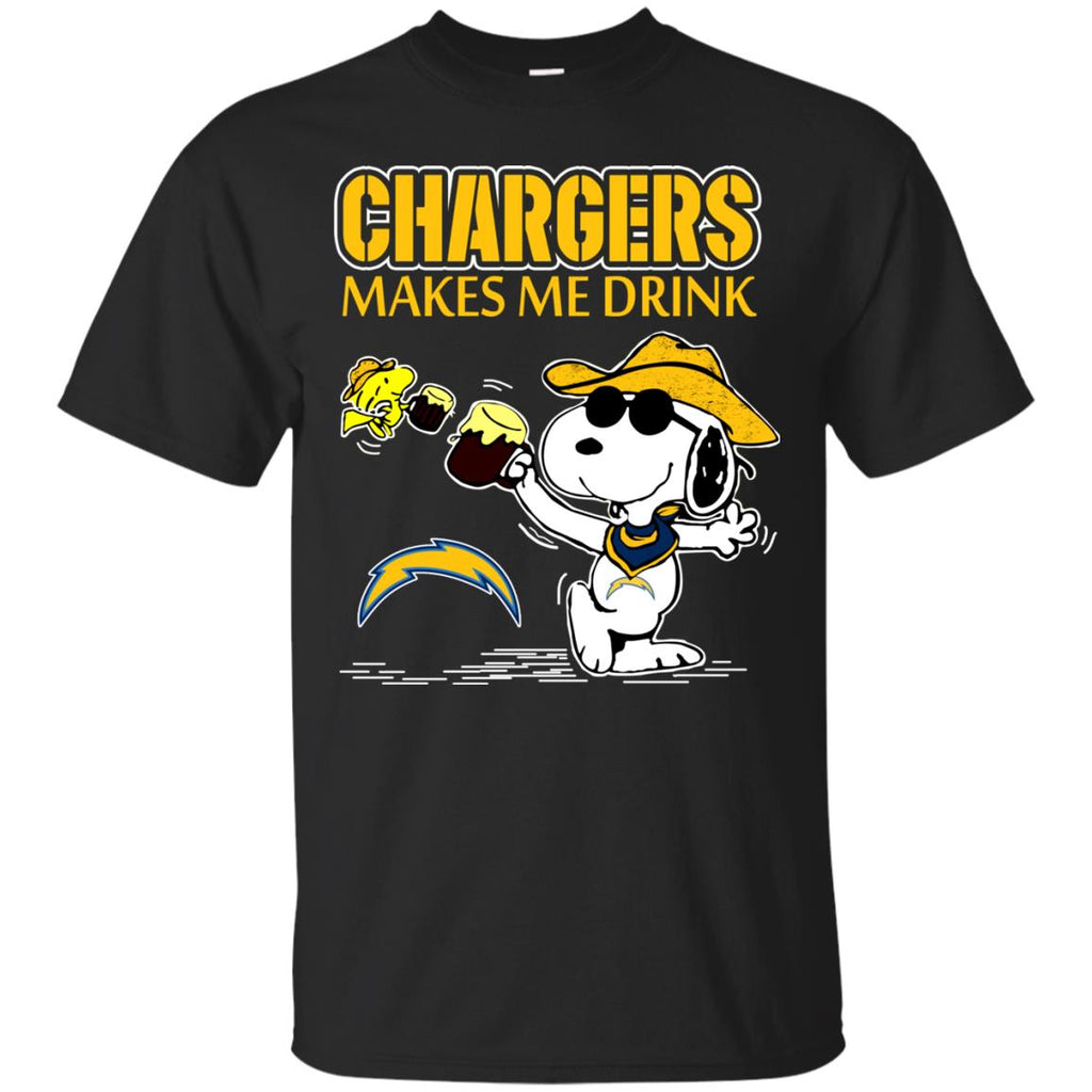 Los Angeles Chargers Make Me Drinks T Shirts