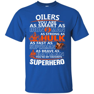 Edmonton Oilers You're My Favorite Super Hero T Shirts