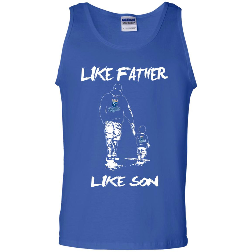 Like Father Like Son Kansas City Royals T Shirt