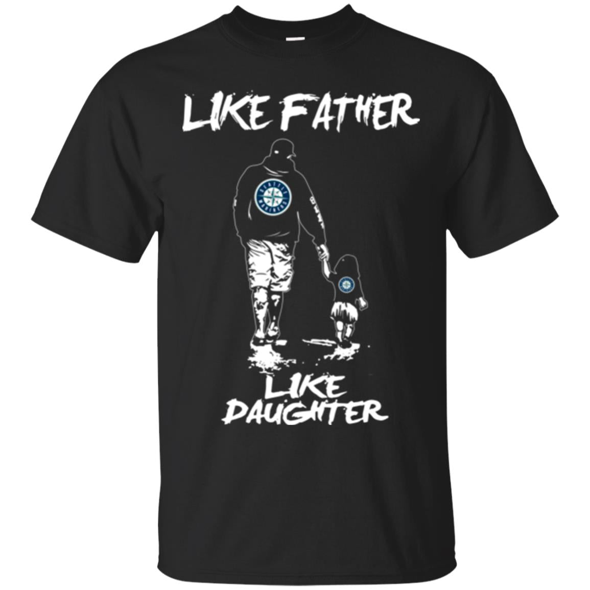 Like Father Like Daughter Seattle Mariners T Shirts