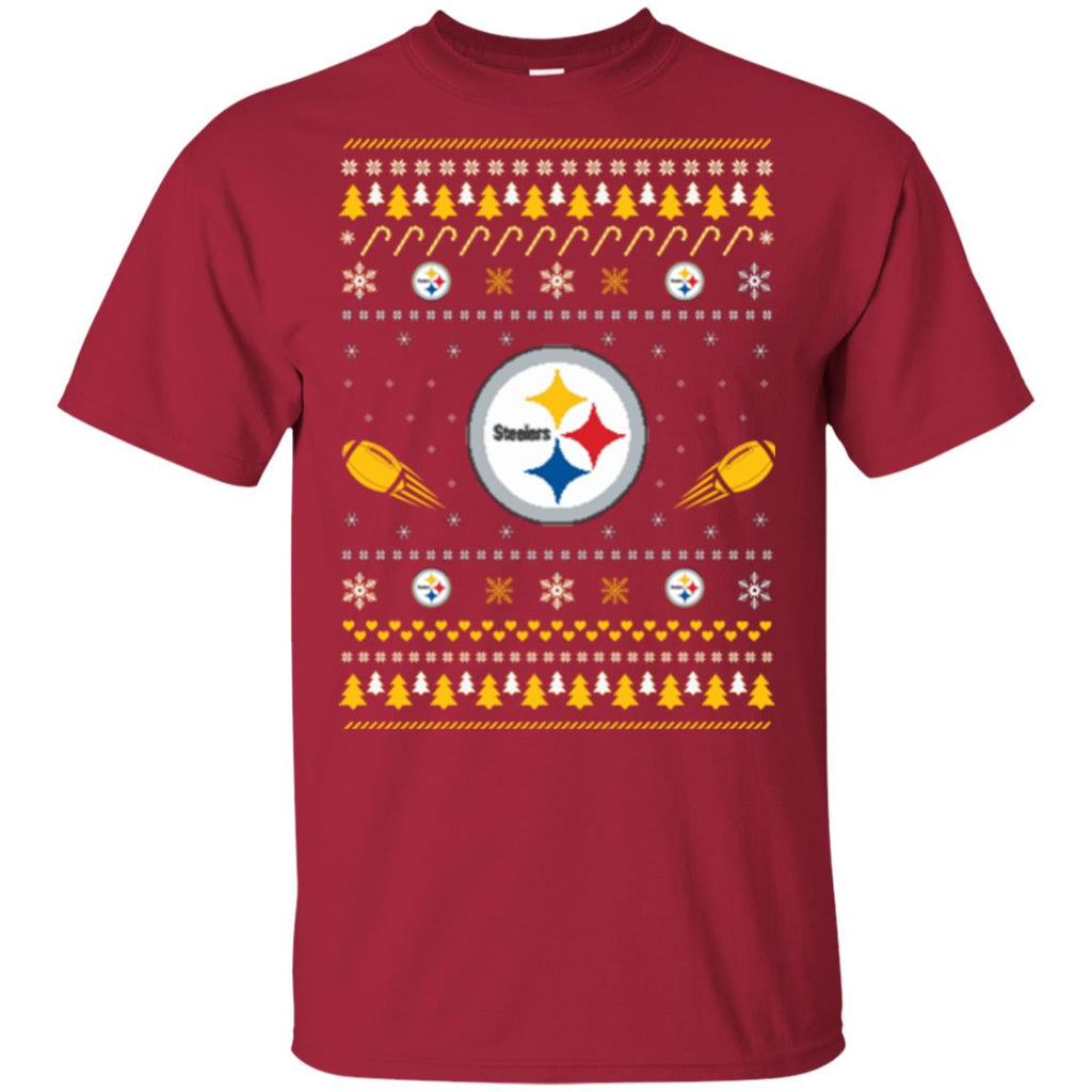 Pittsburgh Steelers Stitch Knitting Style Ugly T Shirts