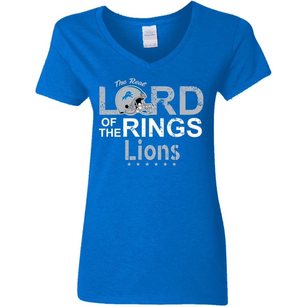 The Real Lord Of The Rings Detroit Lions T Shirts