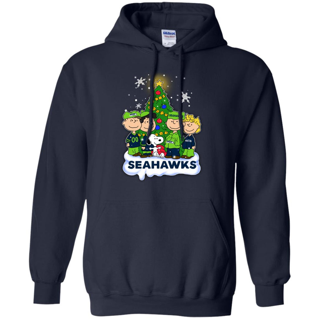 Snoopy The Peanuts Seattle Seahawks Christmas Sweaters