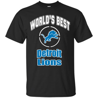 Amazing World's Best Dad Detroit Lions T Shirts