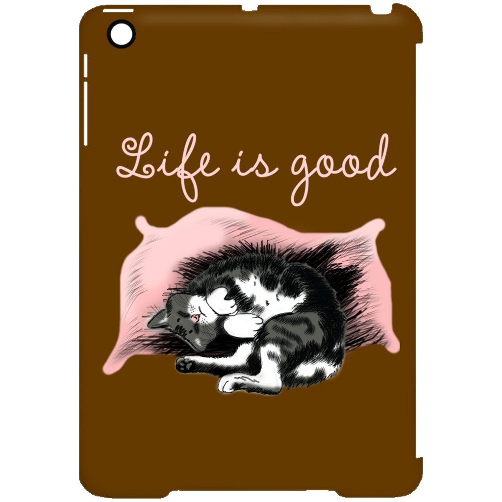 Life Is Good Cat Tablet Covers