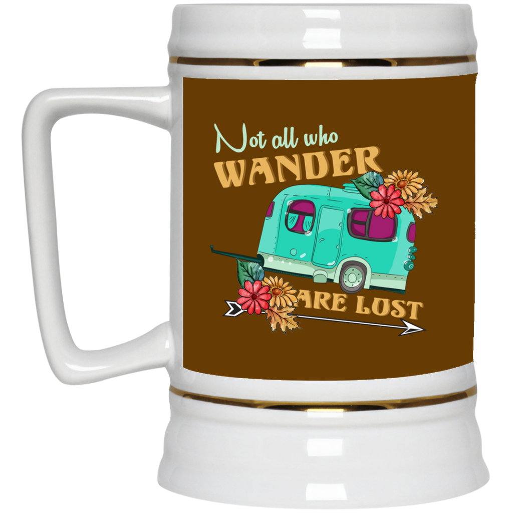 Not All Who Wander Is Lost Camping Mugs