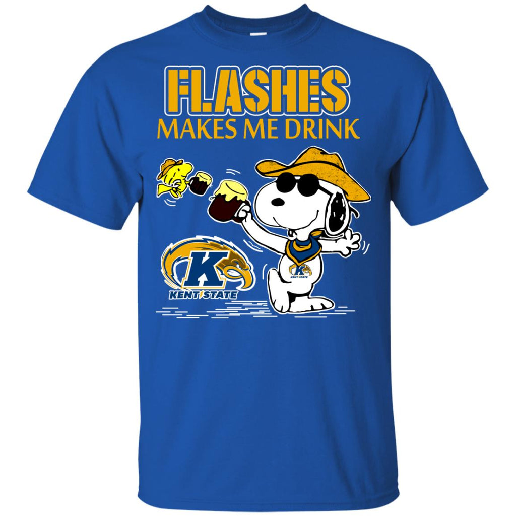 Kent State Golden Flashes Make Me Drinks T Shirts