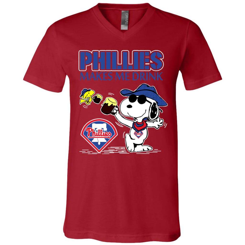 Philadelphia Phillies Makes Me Drinks T Shirts