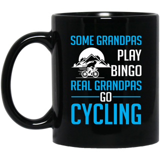 Real Grandpas Go Cycling Mugs