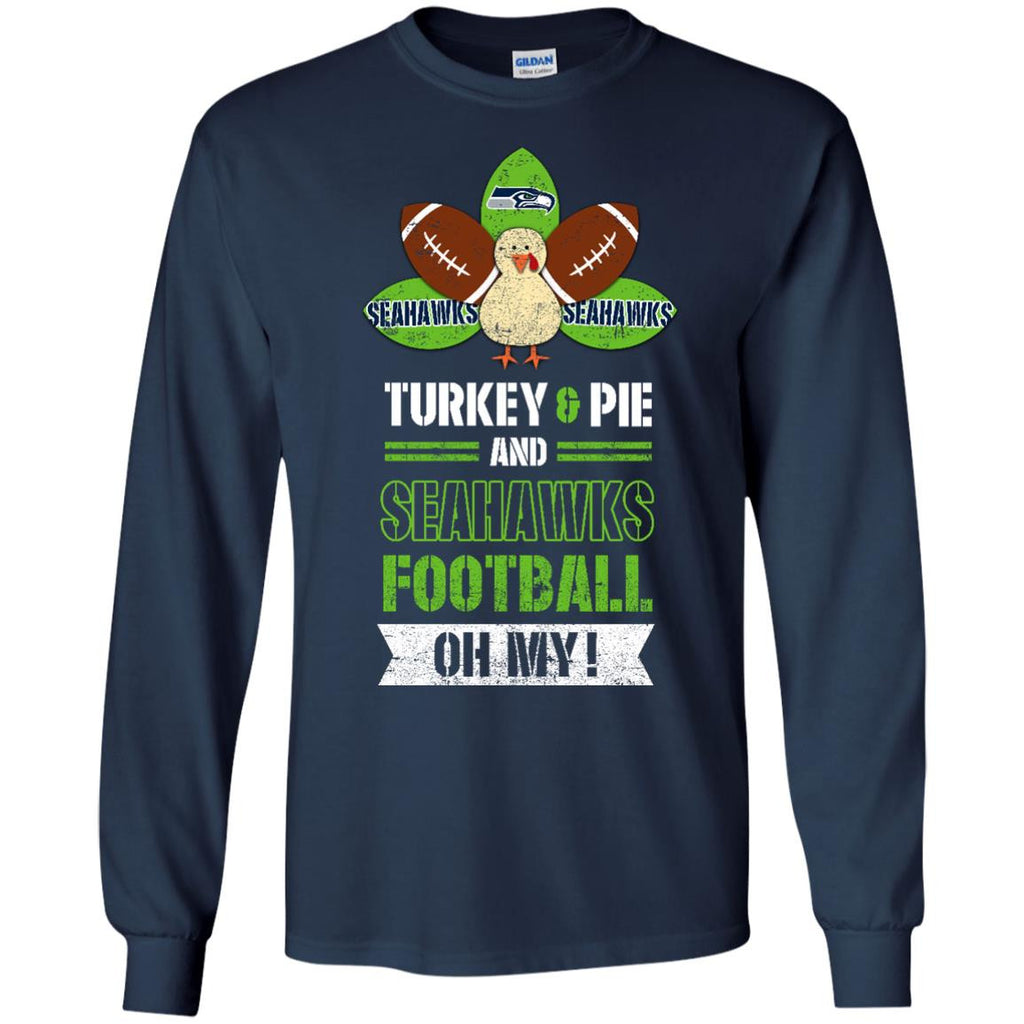 Thanksgiving Seattle Seahawks T Shirts - Best Funny Store