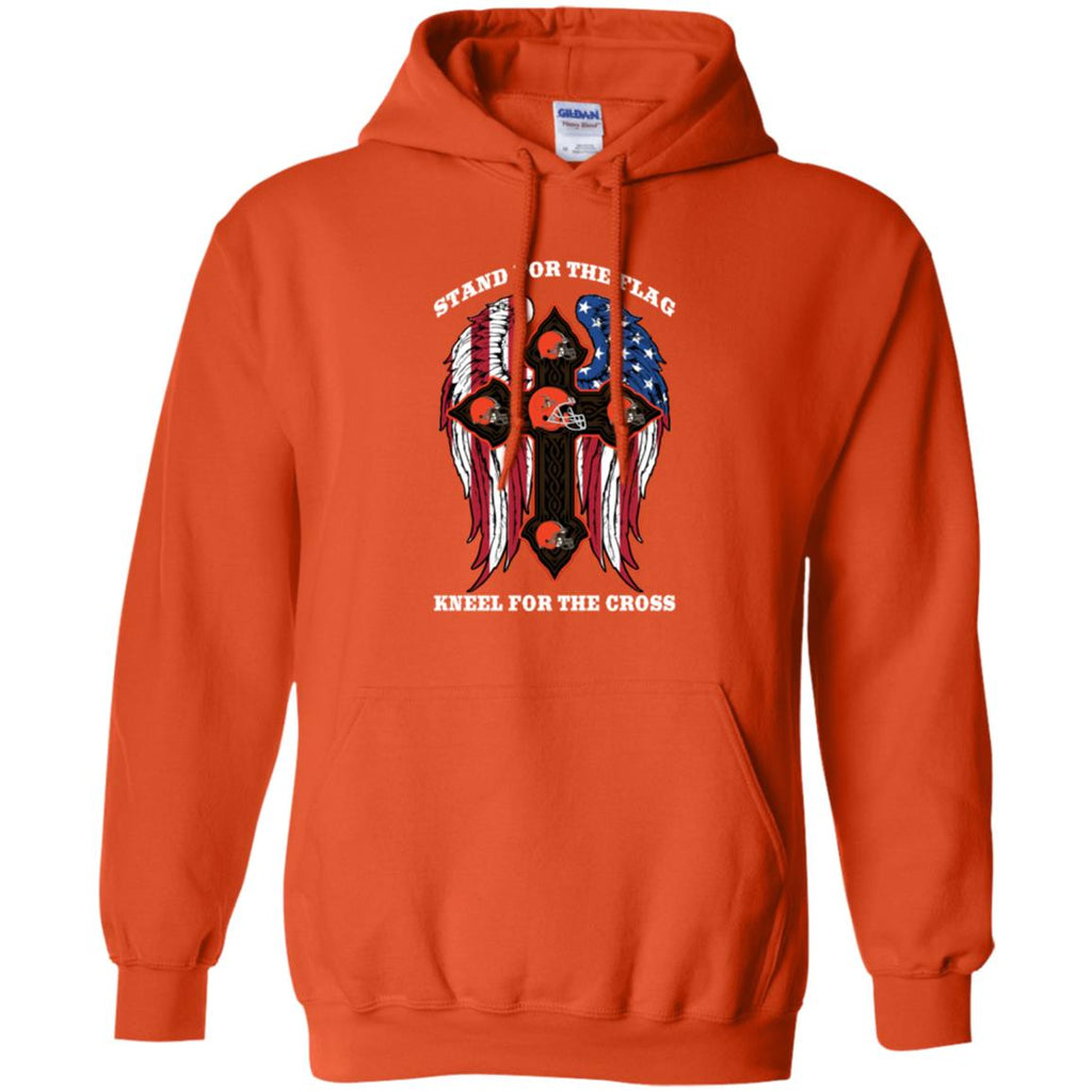 Stand For The Flag Kneel For The Cross Cleveland Browns T Shirts