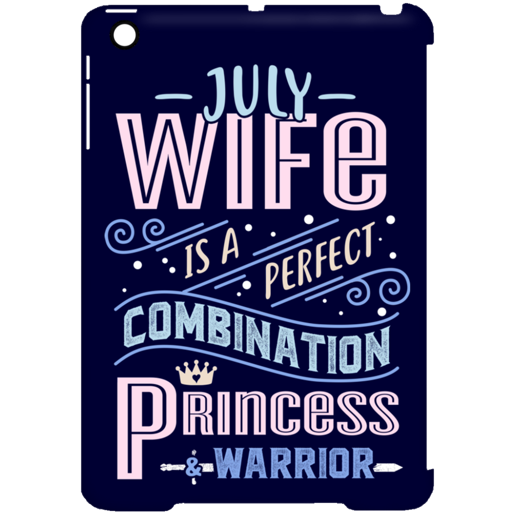July Wife Combination Princess And Warrior Tablet Covers