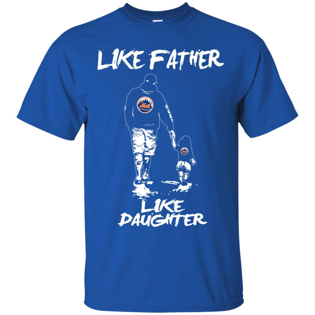 Like Father Like Daughter New York Mets T Shirts