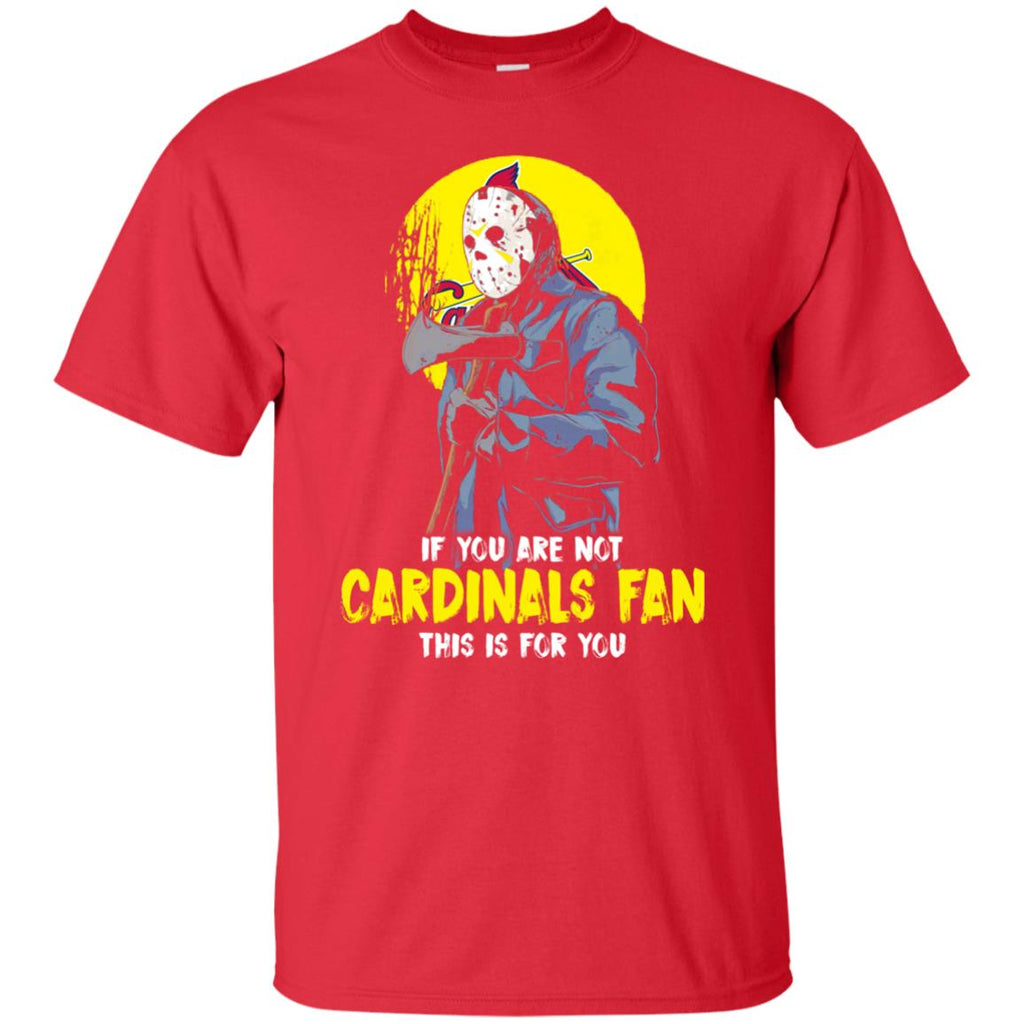 Jason With His Axe St. Louis Cardinals T Shirts