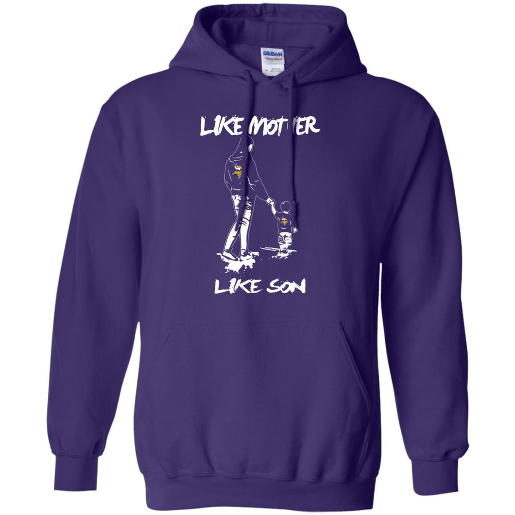 Like Mother Like Son Minnesota Vikings T Shirt