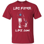 Like Father Like Son San Diego Padres T Shirt
