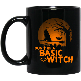 Don't Be A Basic Witch Husky Mugs